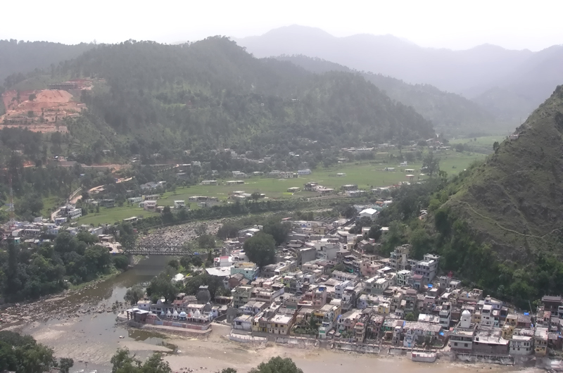 Bageshwar - eye view